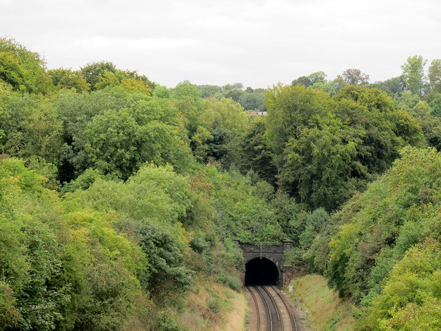 Merstham Tunnel (fast lines)