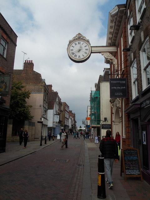 Rochester: under the clock