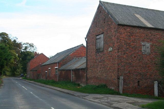 Traditional farm buildings at Stackyard Farm, Eppleworth