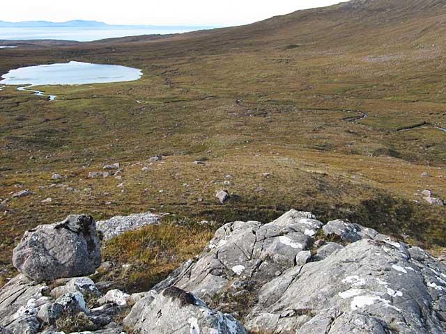 Moorland near Loch Gaineamhach Beag, Torridon