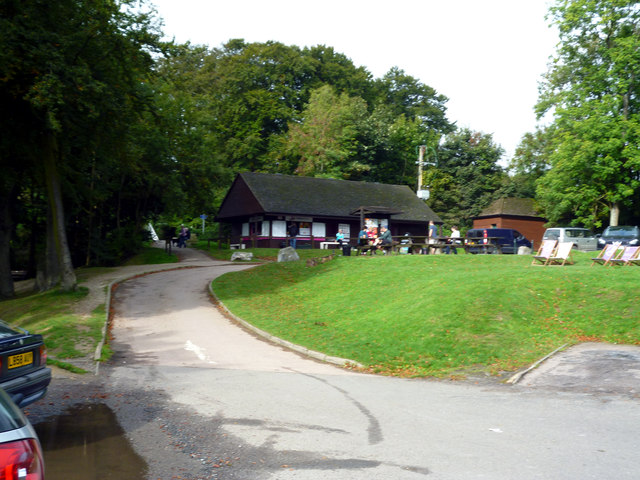 Reigate Hill:  Cafe at Wray Lane Head