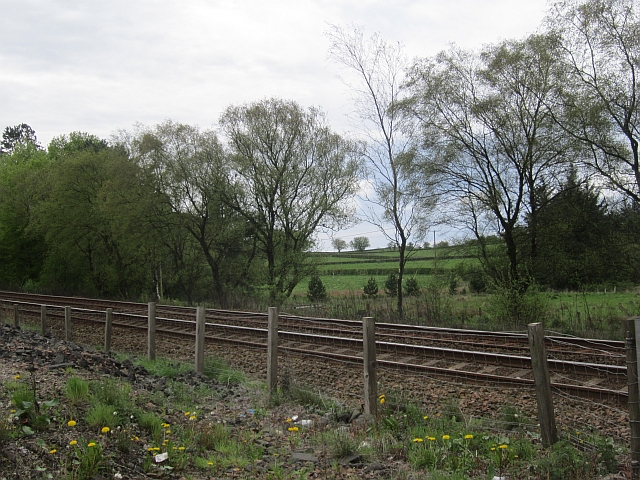 Road access, Glasgow to Kilmarnock railway