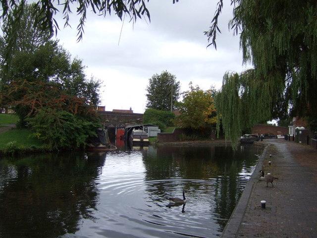 Birmingham Canal, Wolverhampton Level