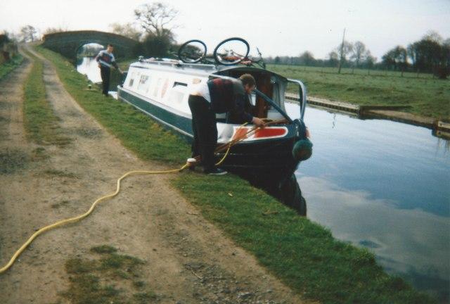 Shropshire Union Canal and Bremilow's Bridge