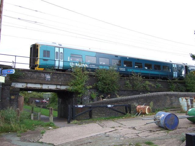 Railway into Wolverhampton