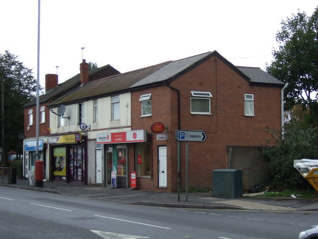 Post Office on Willenhall Road