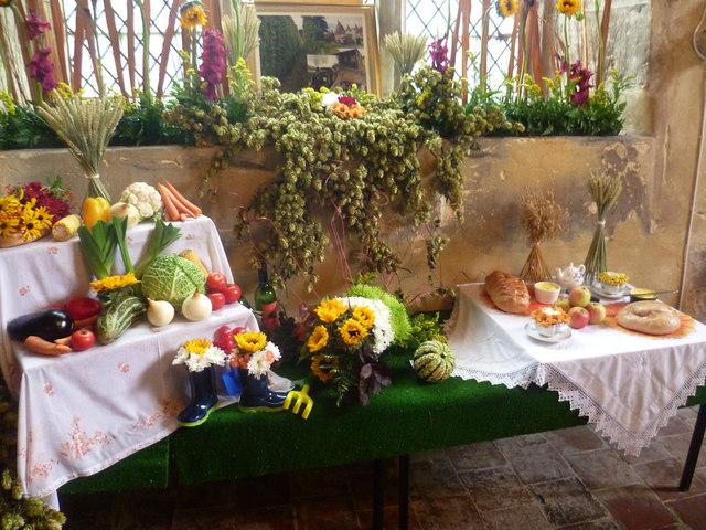 Flower festival at All Saints Church, Biddenden