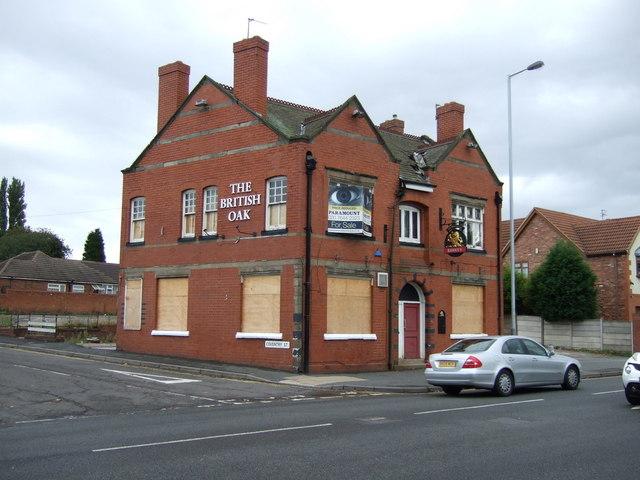 The British Oak pub