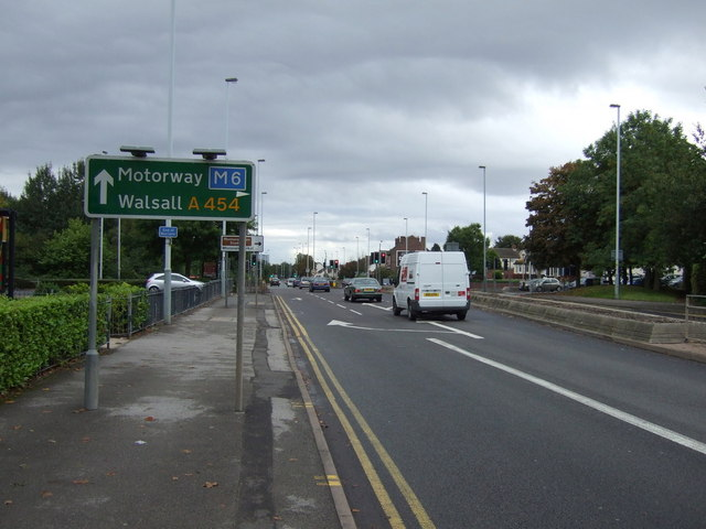 Willenhall Road (A454)