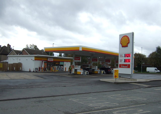 Service station off Willenhall Road