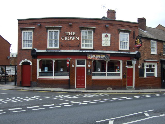 The Crown pub, Willenhall