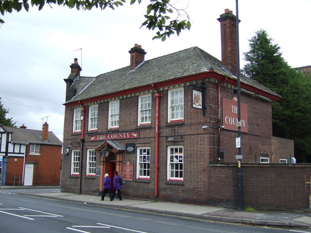 The County pub, Willenhall