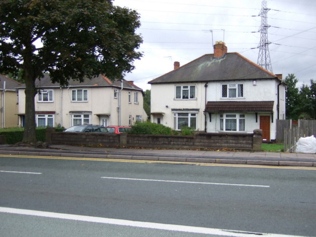 Houses on Wolverhampton Road West