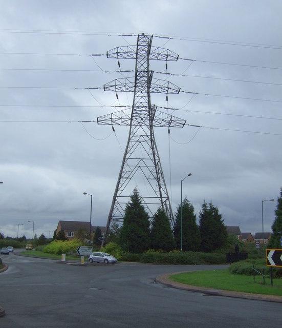Pylon off Reedswood Way