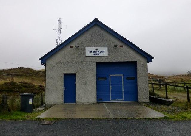 H. M. Coastguard, Tarbert