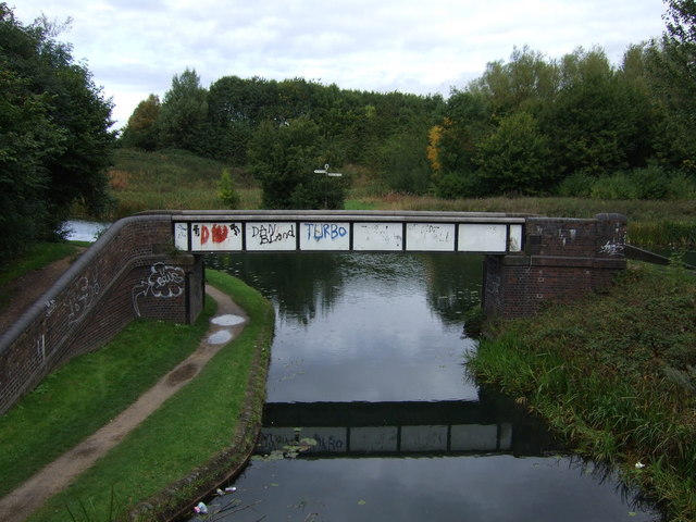 Bridge over Walsall Canal