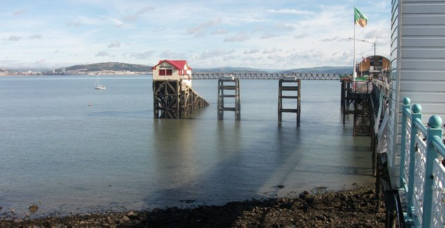 Mumbles old RNLI lifeboat station
