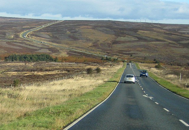 Moorland view from Tom Cross Rigg