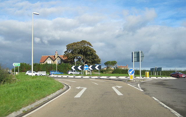 End of the A169