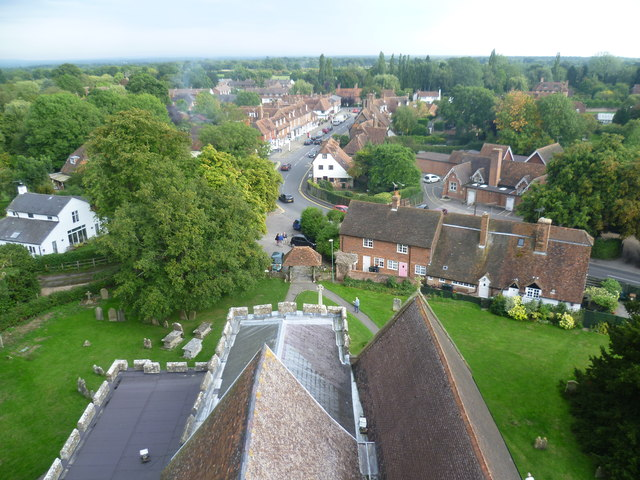 View from the tower of All Saints Church, Biddenden