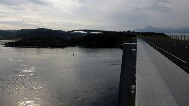 View Towards The Skye Bridge/Drochaid an Eilein