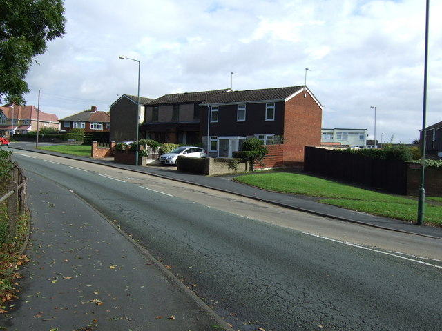 Houses on Goscote Lane