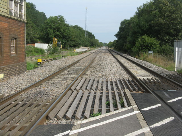The line to Gloucester