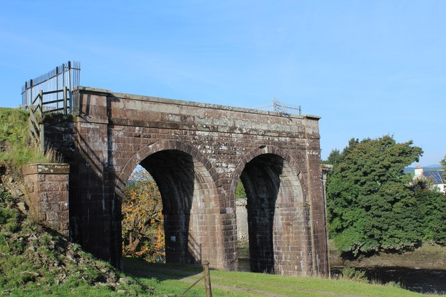 Remains of Railway Bridge by River Dee, Tongland