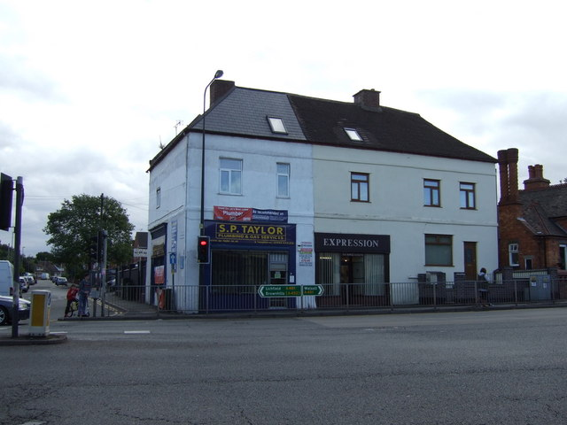 Shops on Lichfield Road, Rushall