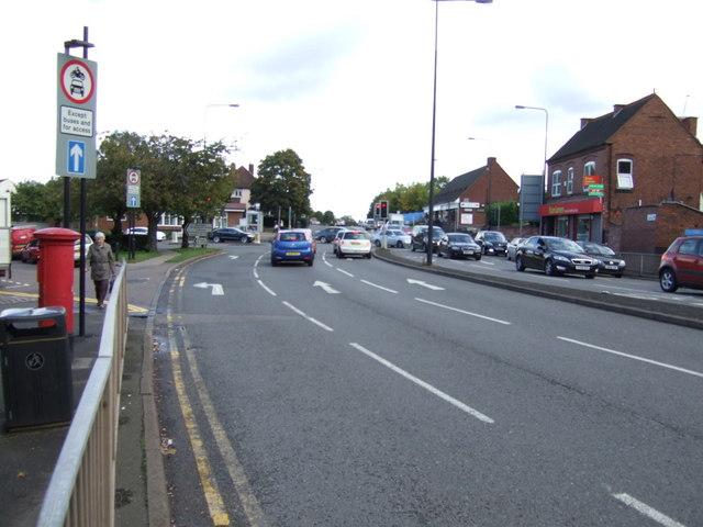 Lichfield Road (A461), Rushall