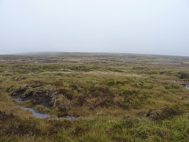 Boggy moorland above Coire Breac