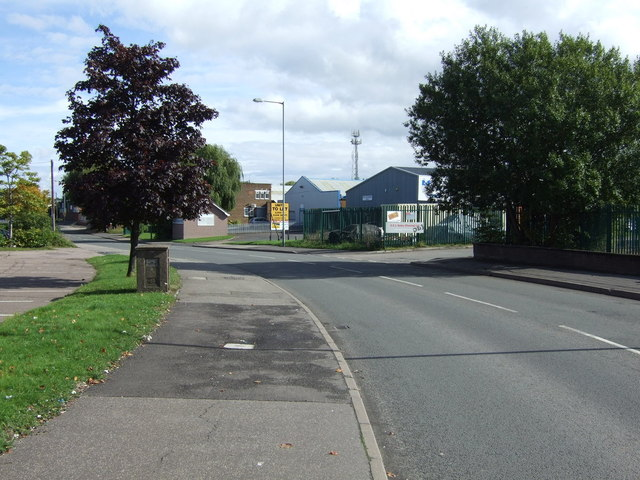 A bend in Westgate