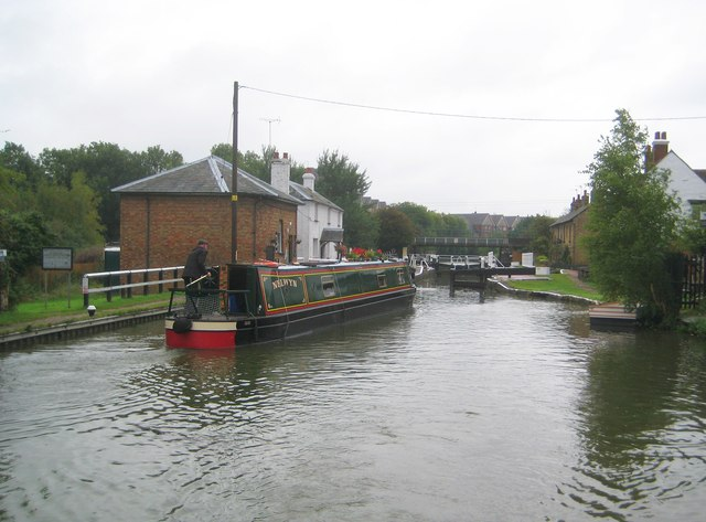 Grand Union Canal: Lock Number 22: Fenny Stratford Lock (1)