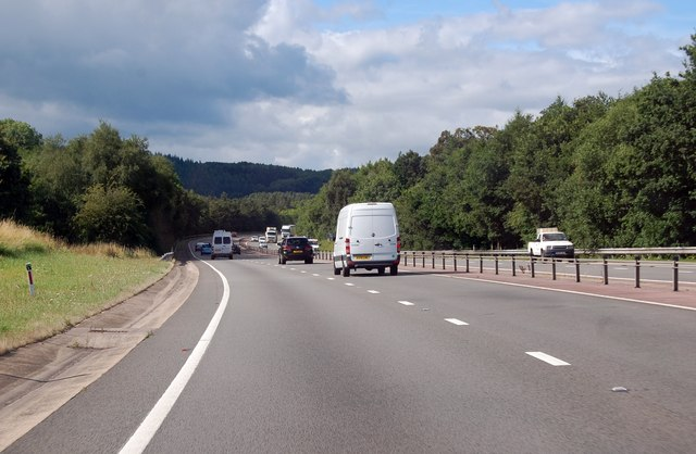 A40 heading south west