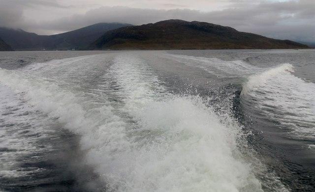 Leaving Seaforth Island