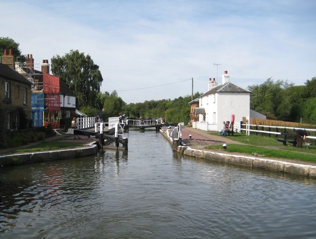 Grand Union Canal: Lock Number 22: Fenny Stratford Lock (2)