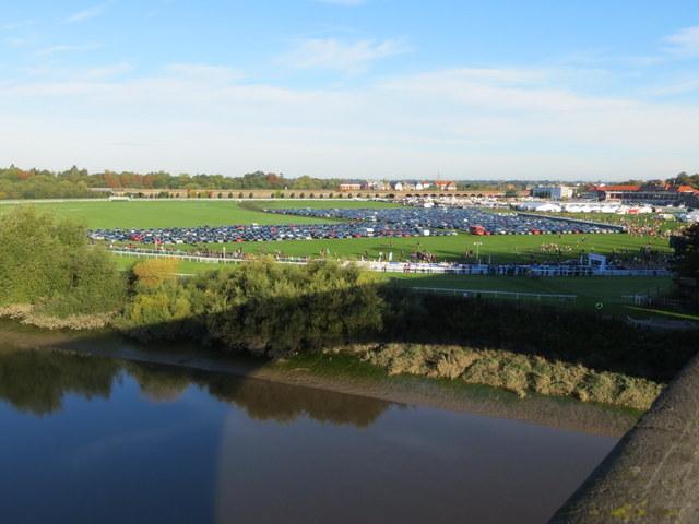 MBNA Chester Marathon 2013 - The Racecourse