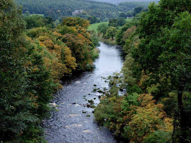 The River Wharfe above The Strid