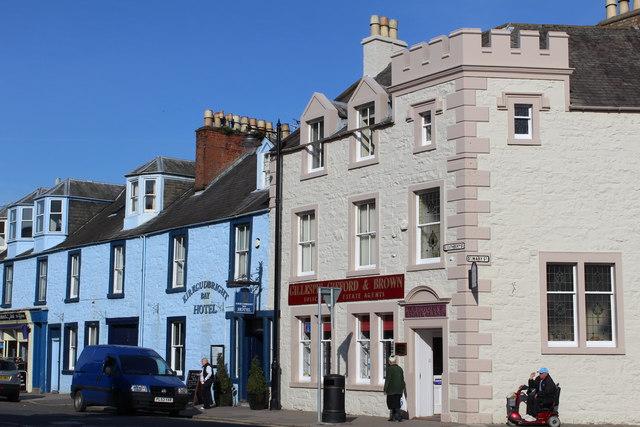 Corner of St Cuthbert Street & St Mary Street, Kirkcudbright
