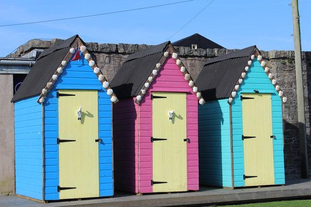 Beach Huts, Kirkcudbright