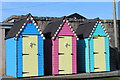NX6851 : Beach Huts, Kirkcudbright : Week 40