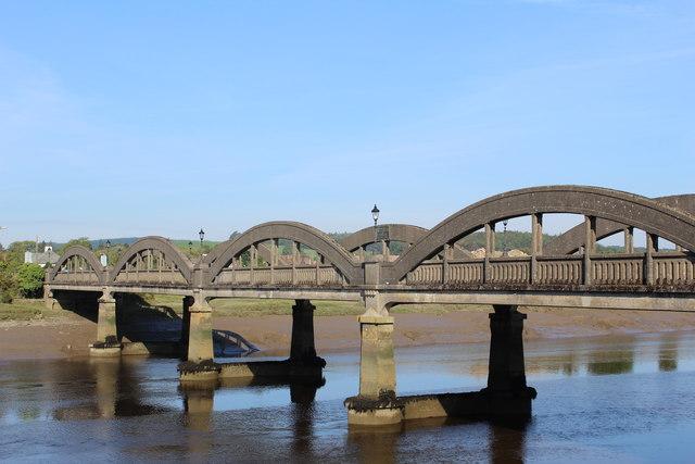 Kirkcudbright Bridge & River Dee