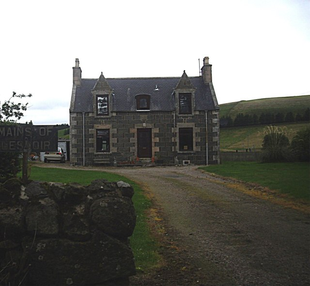 Mains of Lesmoir Farmhouse (2013)