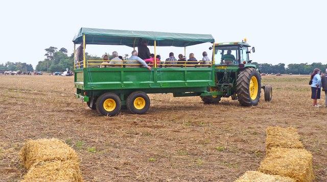 Tractor Ride at North Hinton Farm