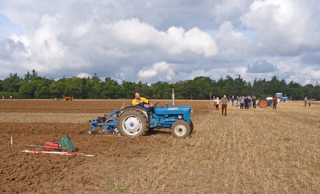 Ploughing Contest at North Hinton Farm