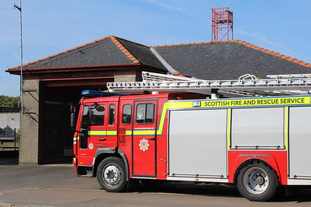 Kirkcudbright Fire Station