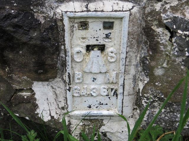 Ordnance Survey Flush Bracket G4367