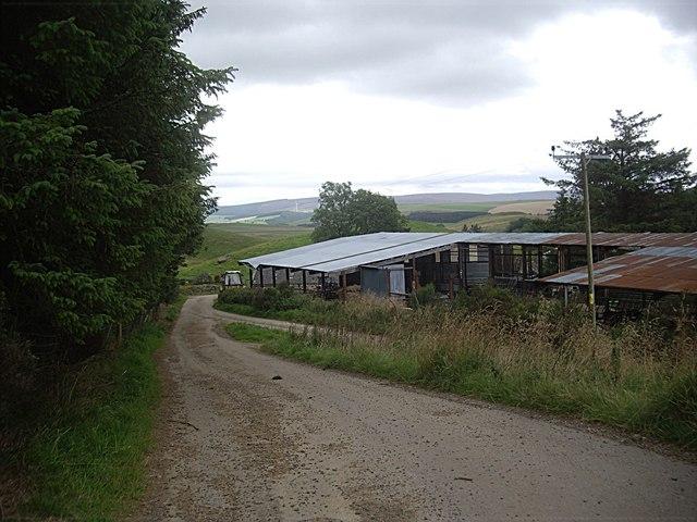 Farm buildings, Milton of Lesmore