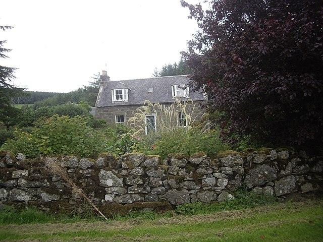 Farmhouse, Milton of Lesmore