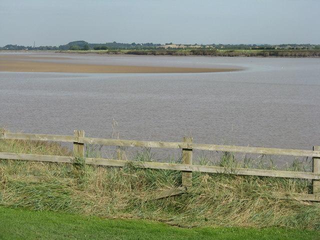 Sandbank in the Severn at Newnham